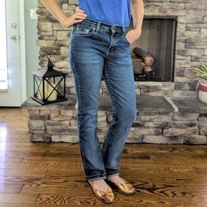 Vintage Levi's 505 straight leg boyfriend jeans